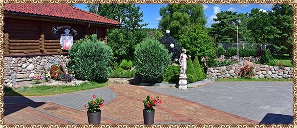 Rąstinis namelis Šventojoje